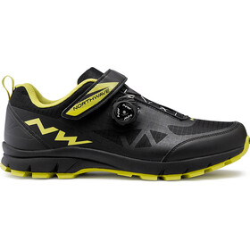 Northwave Corsair Shoes Herre black/green